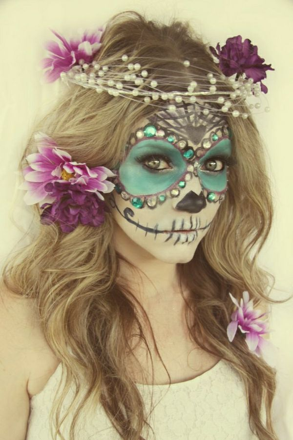 Les 25 meilleures id es de la cat gorie maquillage mexicain en exclusivit sur pinterest - Maquillage mexicain facile ...