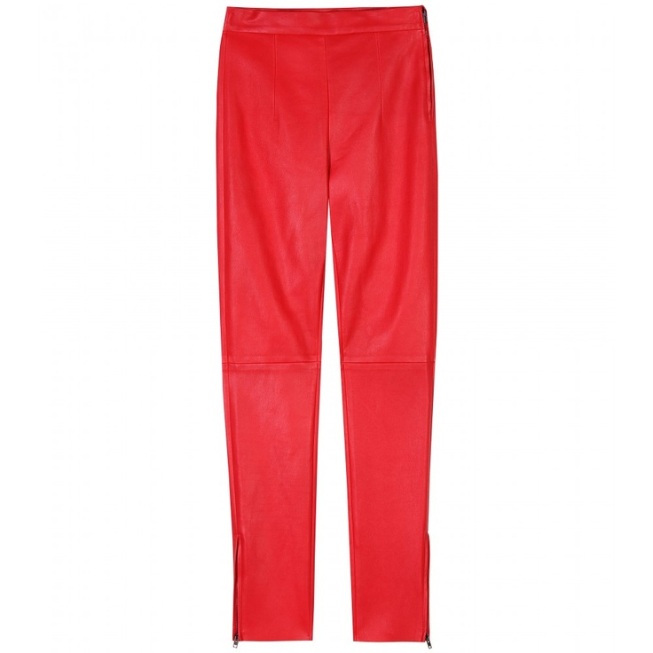 Miu Miu - STRETCH LEATHER TROUSERSStretch Leather, Leather Trousers, Miu Miu
