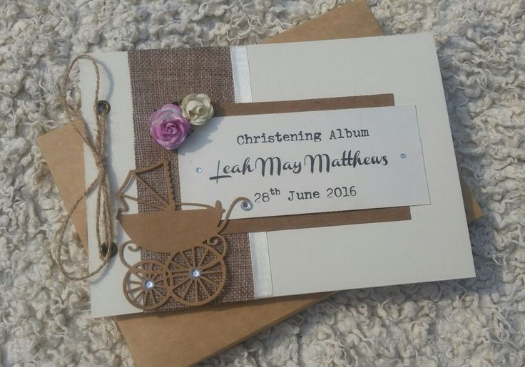A5 Personalised Baby Shower/Christening Guest book/Album/Memories/Pregnancy Journal in a rustic shabby chic design. This book is hardback in ivory,complete with 30 top quality. Baby Shower. Guest Book. | eBay!