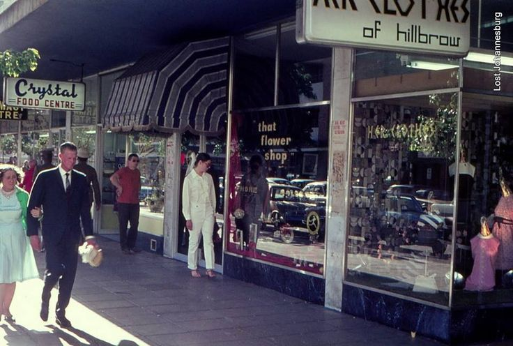 Hillbrow. We lived round the corner from those shops in the late sixties. I often used to buy food in Crystal's.