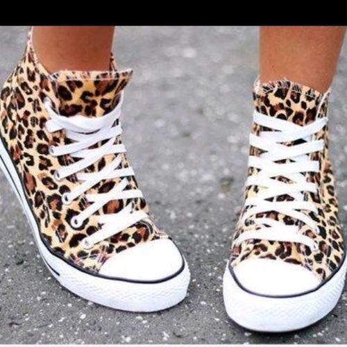 Si, si, siiii Converse con print leopardo ♥♡