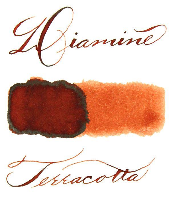 Diamine 40 ml Bottle Fountain Pen Ink, 150th Anniversary, Terracotta