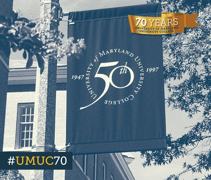 This year we celebrate our 70th anniversary. Here's a #ThrowbackThursday to 1997 when we celebrated our 50th! #umuc70
