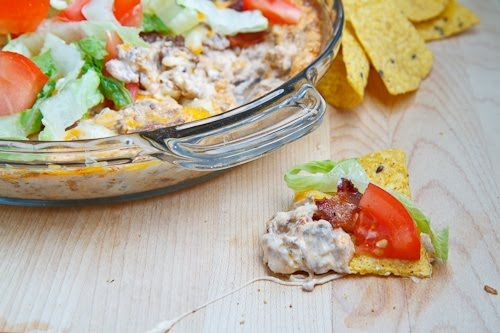 Bacon Double Cheese Burger Dip Another recipe to compare with the last ...
