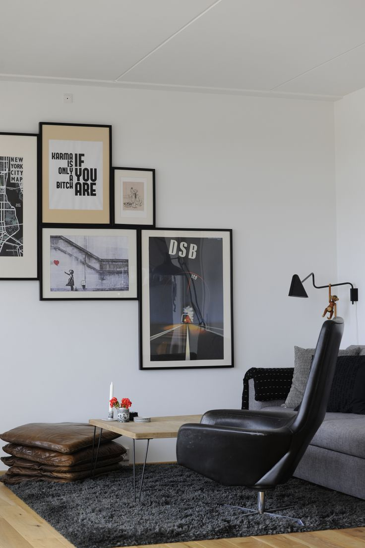wall art CPH apartment, 8-tallet. Foto: Images by Langfeldt