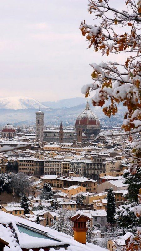 Winter in Florence, Italy Visited in summer - would love to go back in winter, or any time!