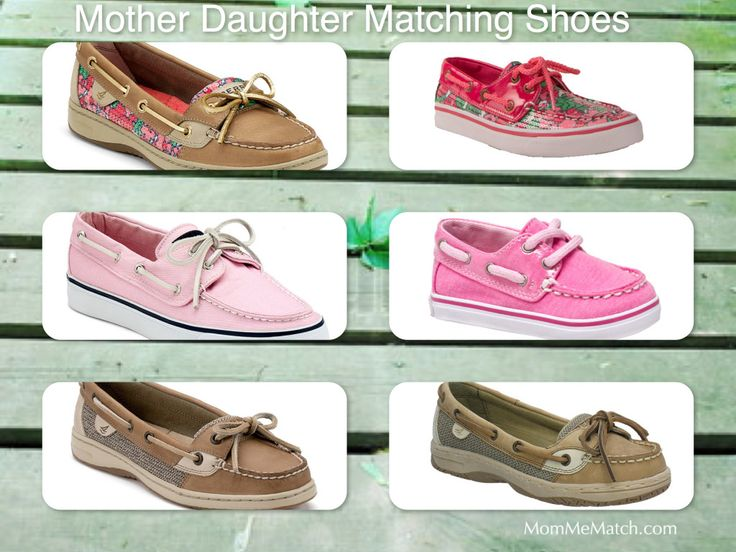 Mother & Daughter Matching Sperry Shoes | MomMeMatch.com