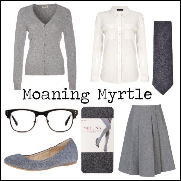 """Moaning Myrtle"" by jefnier on Polyvore"