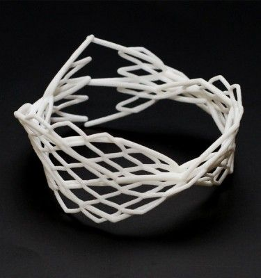 3d printed jewelry, parametric design, bracelet, spinne