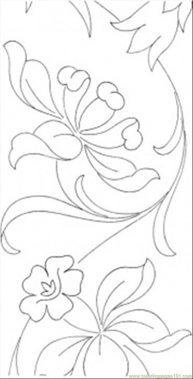 Flower mosaic coloring pages - Flower Page Printable Coloring Sheets Pages Tender Flowers Other Pattern