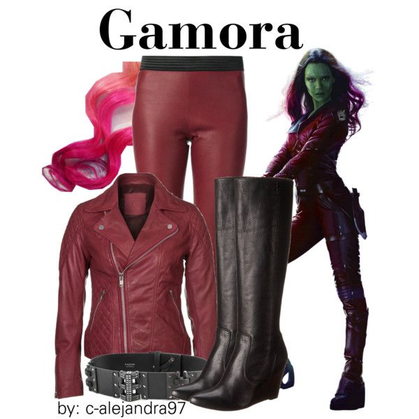 """Gamora"" by c-alejandra97 on Polyvore"