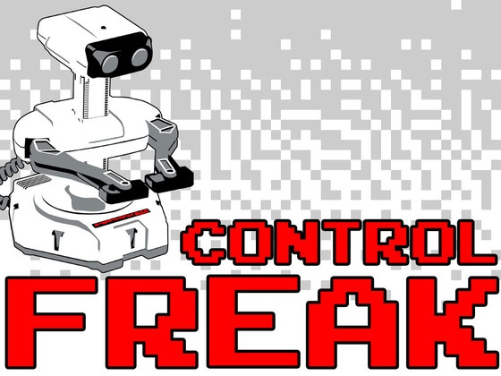 CONTROL FREAK - A New Poster for the Classic Gaming Fan by Jesse Willis, via Kickstarter.
