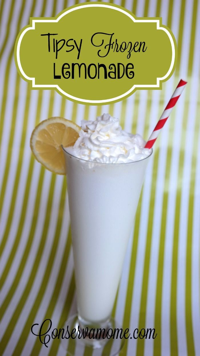 This is a delicious recipe that include the delicious taste of a frozen lemonade with the fun kick of Whipped cream vodka. Perfect for an event or alone!