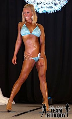 Taylor Temnick Npc Bikini Collegiate Competitor With