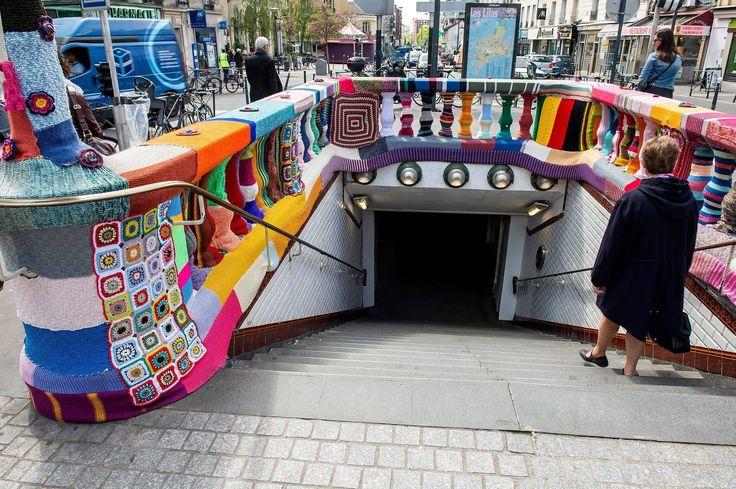 """Caldo ? Freddo ? Non è il caso della stazione #metro """"Mairie des Lilas"""" by Karen Fingerhut Atelier Daniel Guiraud"""