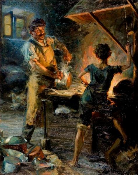 Ο γανωματής, 1914, Μπισκίνης Δημήτριος