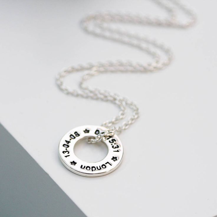personalised marathon runners necklace by green river studio   notonthehighstreet.com