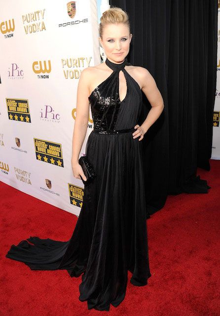 American actress and singer, Kristen Bell during 2014 Critics Choice Awards...