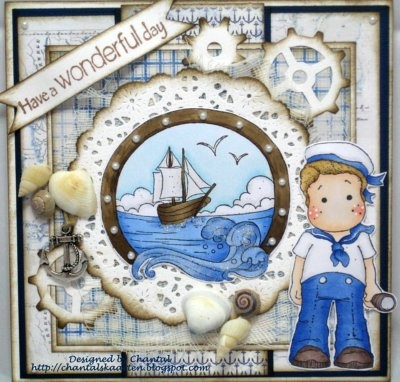 Cards made by Chantal: Have a wonderful day Sailor!