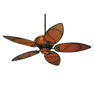 """Tommy Bahama Paradise Key 52"""" Indoor Ceiling Fan - Remote, Up-Light Kit and Blades Included $699.00"""