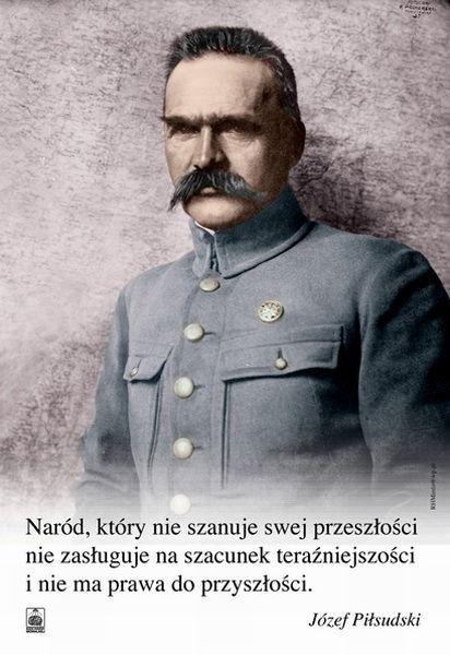 Naczelnik państwa polskiego, marszałek Józef Piłsudski.
