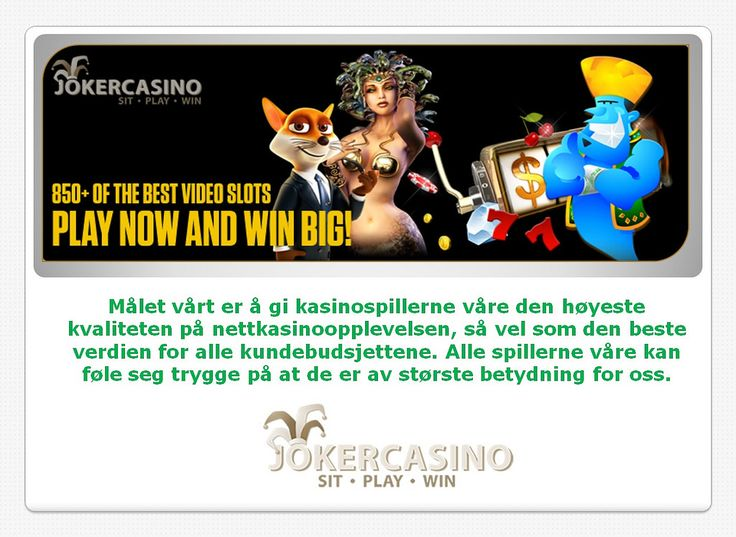 Thumbnail for mobilkasino, direkte kasino, gratis spinn, freespins
