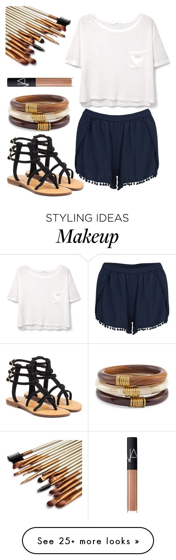 """""""Untitled#125"""" by angieleabourgeois on Polyvore featuring Mystique, MANGO, VILA, Chico's and NARS Cosmetics"""
