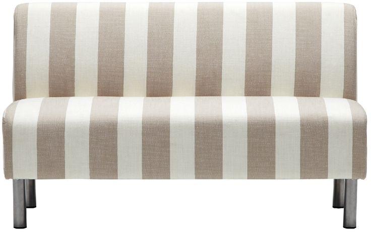 家具・インテリア ホームファッションの21スタイル TWO-ONE STYLE|ソファ|ソファ | JUICYカジュアル 2P ソファ ライム(ストライプ)