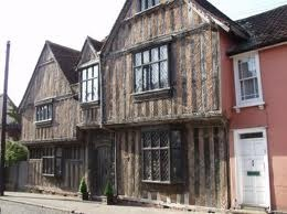 Yes - it really is Harry Potter's House - in Lavenham, and its for sale