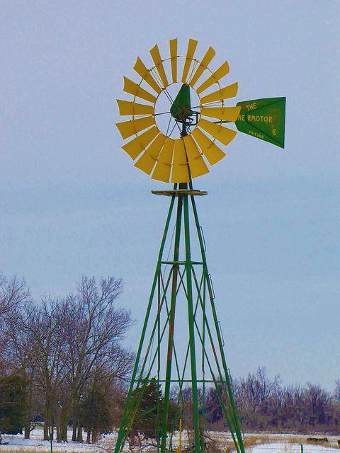John Deere windmill | Flickr - Photo Sharing!