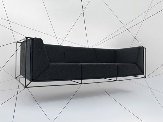 Floating Sofa by Philippe Nigro