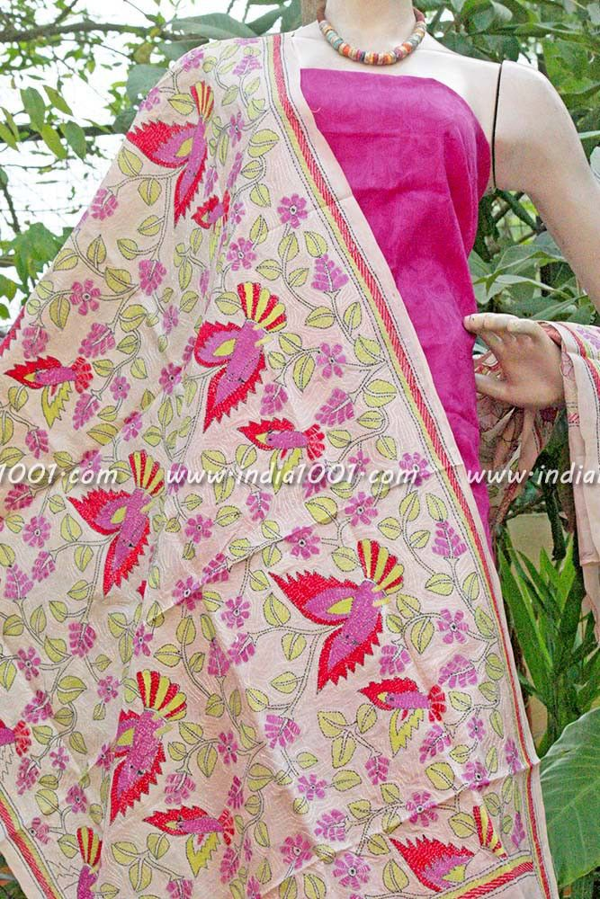Best images about kantha embroidery on pinterest