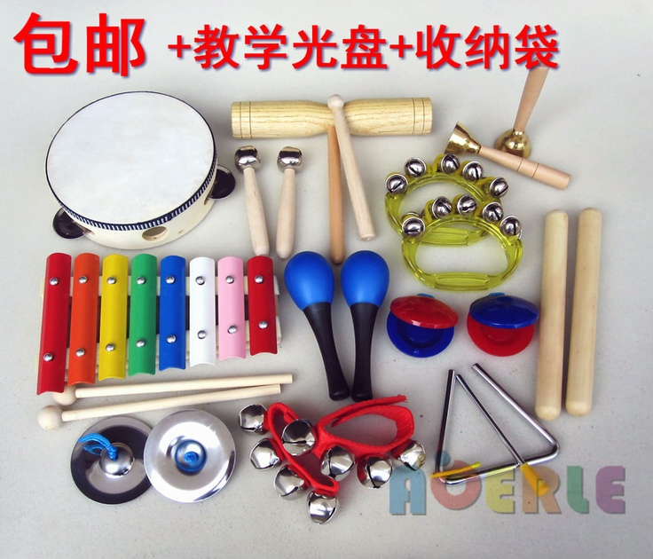 Orff musical instrument set child percusses toy combination 12 musical instrument toy set-in Toy Musical Instrument from Toys & Hobbies on Aliexpress.com
