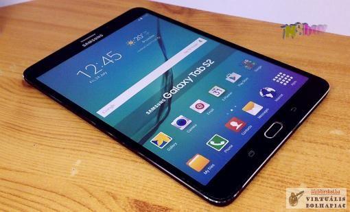 Samsung Galaxy Tab S2, demo tablet, originált csomagolásban, kirakatba, bemutató készüléknek.