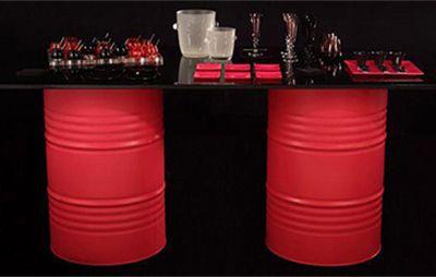 O que dá para fazer com tambores? - Arte Reciclada Arte - Arte Reciclada