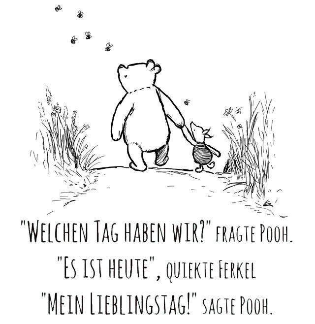 #90JahreFreundschaft - Die schönsten Weisheiten von Winnie Puuh - GlamourSister.com