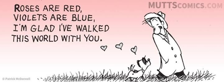Mutts Comic Valentine's Day
