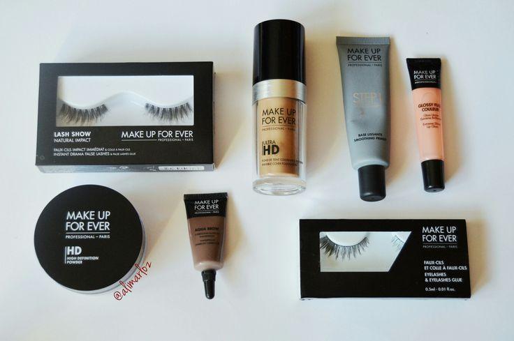 """Make up Forever es una marca de maquillaje profesional de alta gama que, personalmente, encuentro que tienen algunos productos increíbles. Hoy os traigo algunos de los que más me gustan. El """"…"""
