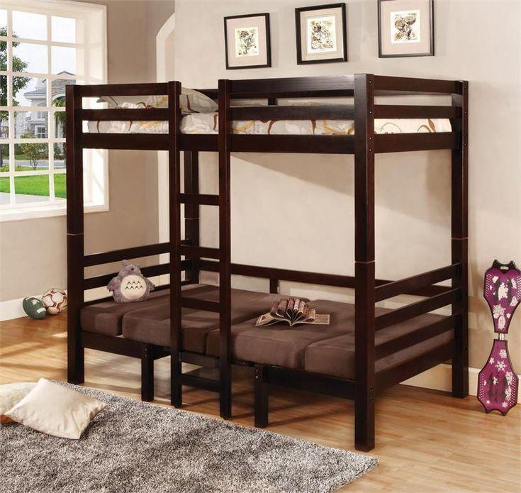 Coaster Bunks Twin Over Convertible Loft Bunk Bed Las Vegas Furniture  Online | LasVegasFurnitureOnline | Lasvegasfurnitureonline Part 60