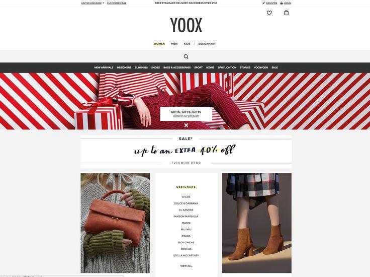 yoox homepage - search bar - functionality nov 15th 2016