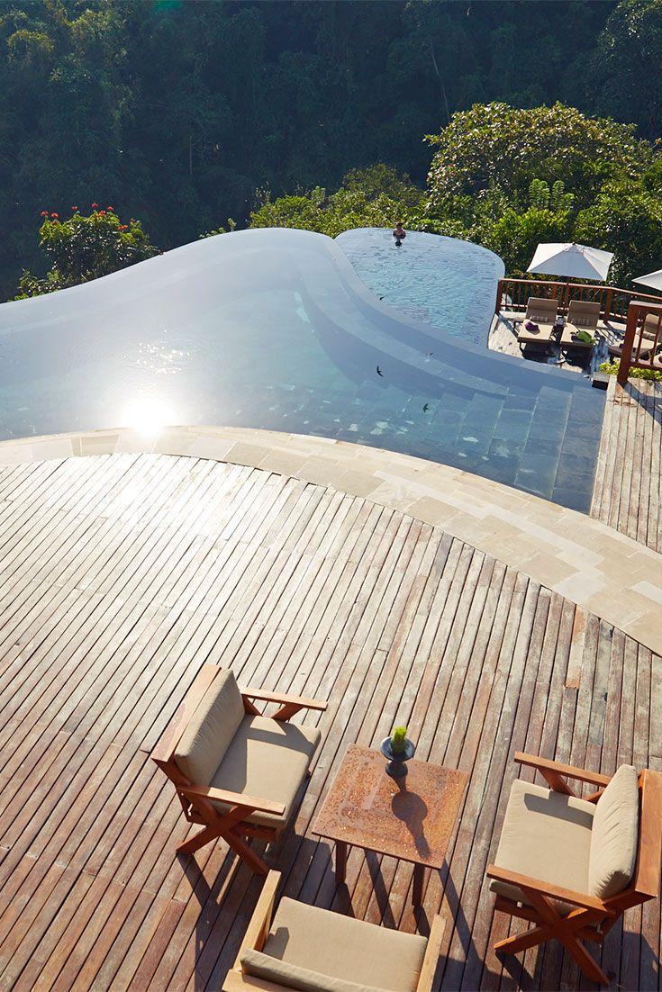 Hanging Gardens Hotel Bali, Ubud, Indonesia.