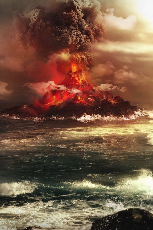 how to prepare for a volcano