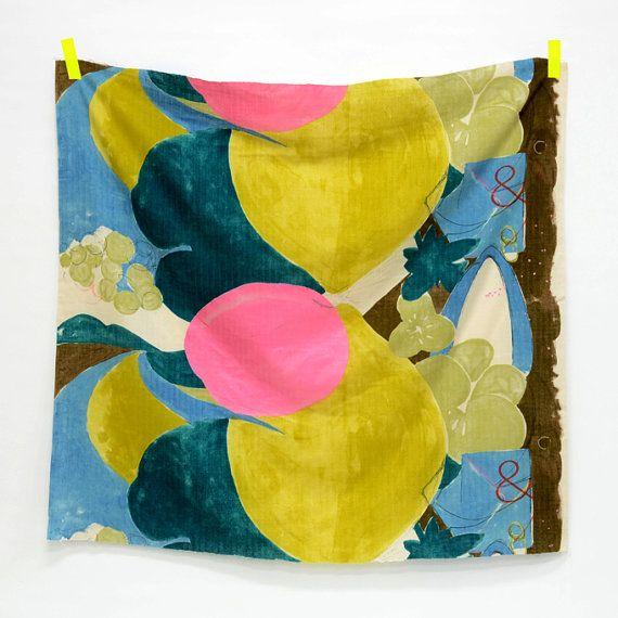Nani Iro &. Japanese Fabric - Ensemble - metallic pink, yellow, turquoise
