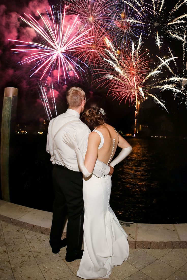 Love the idea of fireworks at weddings! (Scribbled Moments Photography)