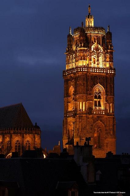 La Cathédrale de Rodez, Aveyron