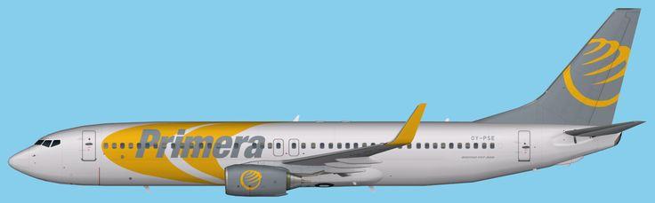 Primera Air Boeing 737-800 Winglet FSX