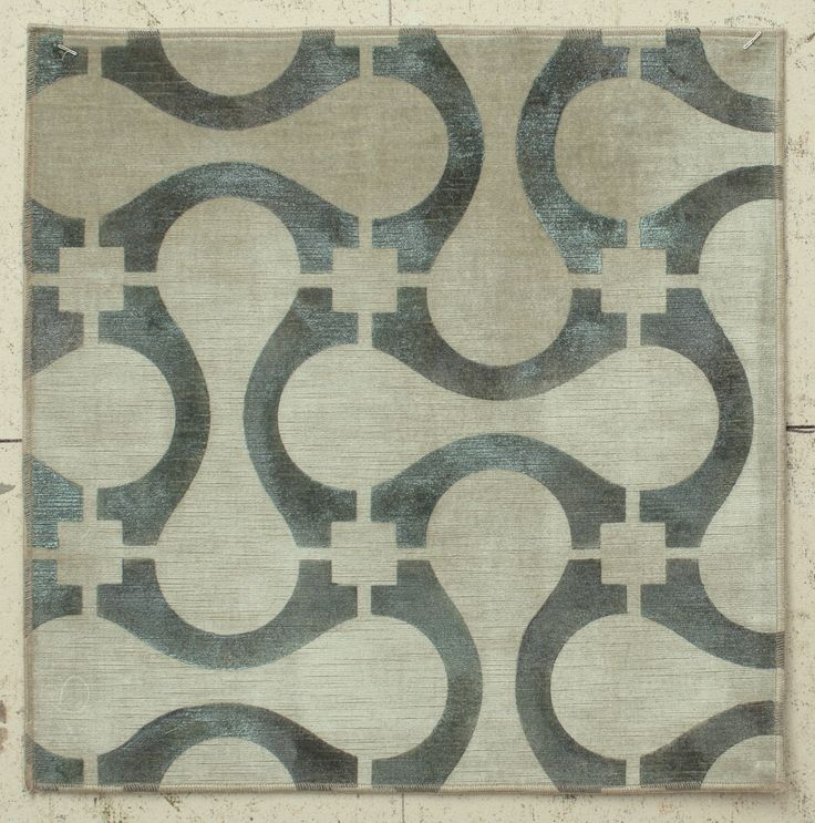 Use as large scale stencil with circles in between elements rather than squares.