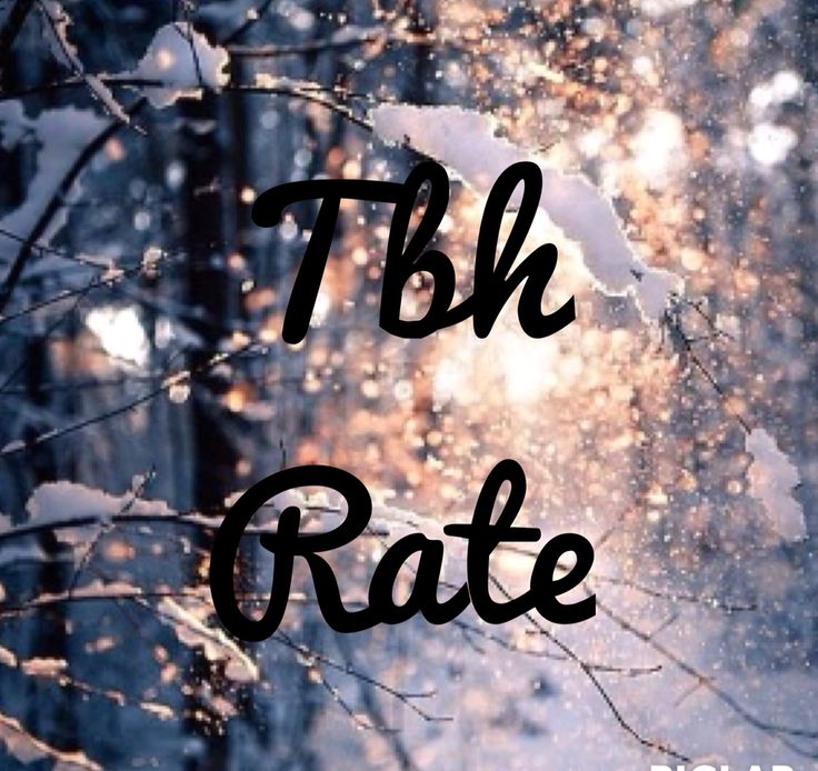 Tbh rate Instagram
