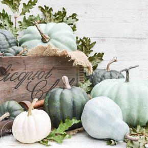 DIY   Pompoenen schilderen voor hippe herfstdecoratie • Stijlvol Styling - Woonblog •