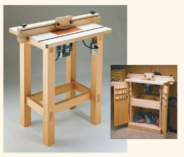 Build a Router Table with These Free Downloadable DIY Plans: Woodsmith Shop's Free Router Table Plan